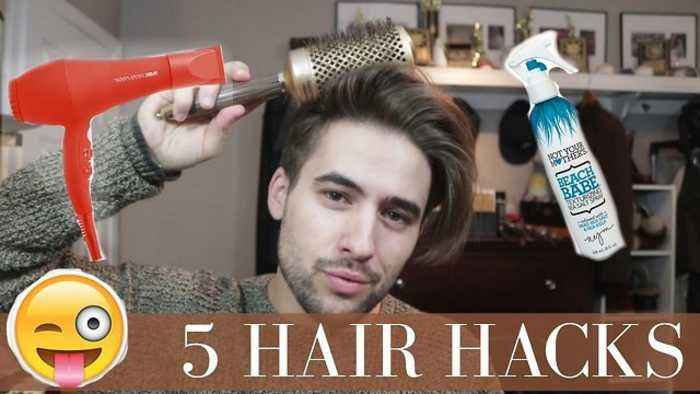 5 Hairstyle Hacks Every Guy Should Know Mens One News Page Video