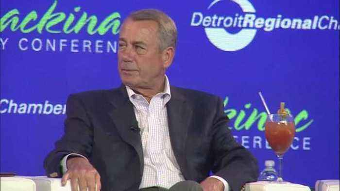 "News video: Republican party ""taking a nap"": Boehner"