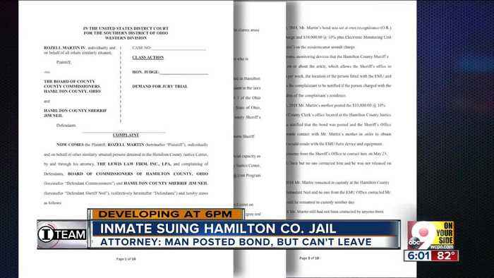 Inmate suing Hamilton County Jail