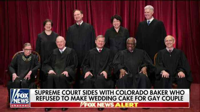 supreme court baker wedding cake decision supreme court sides with colorado baker who one news 20642