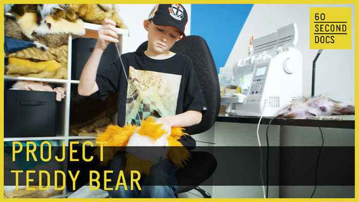 News video: Teddy Bears for Cancer | Project 365 // 60 Second Docs