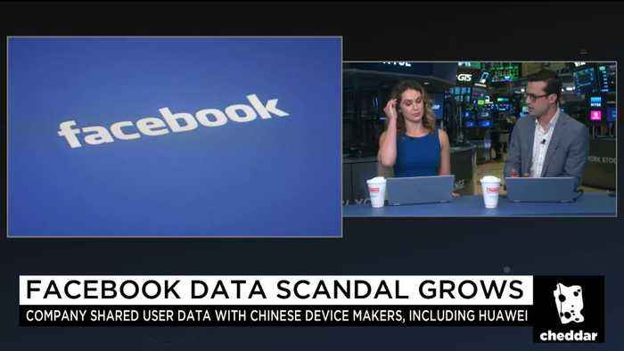 Facebook Shared User Data With Chinese Firms