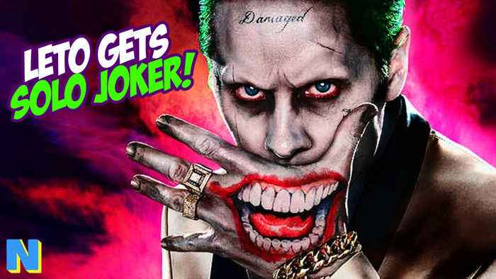 Jared Leto's Joker Gets Solo Film