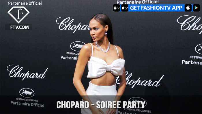News video: Kendall Jenner Sara Sampaio Izabel Goulart & Stella Maxwell at Chopard Soiree Party | FashionTV | FTV