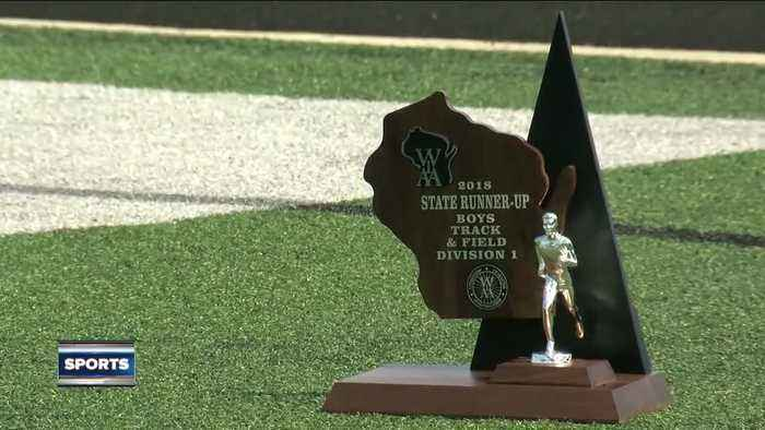 News video: Oak Creek boys track team places 2nd at state