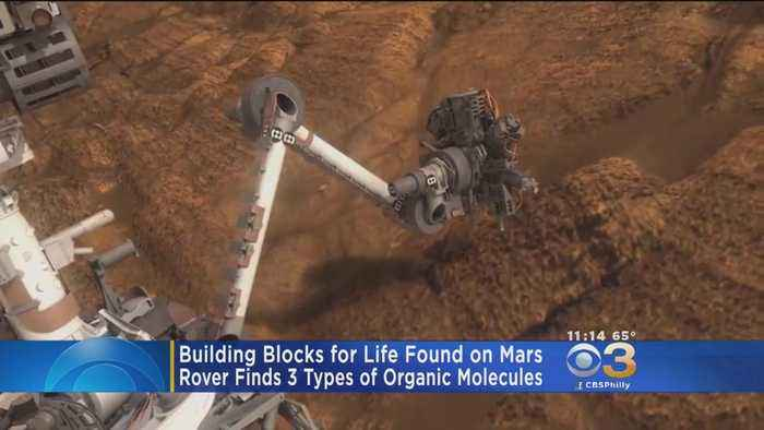 Building Blocks For Life Found On Mars