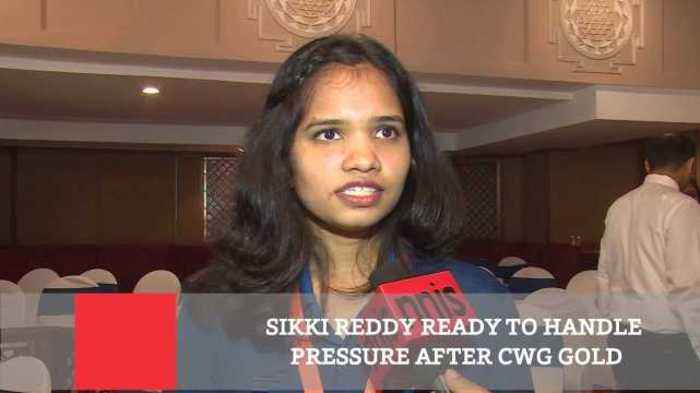 News video: Sikki Reddy Ready To Handle Pressure After CWG Gold