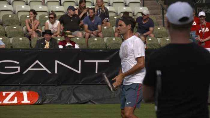News video: Federer hopes to improve on last year's Stuttgart Open