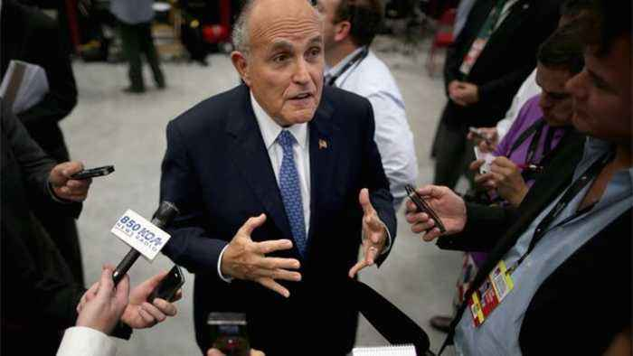 News video: Giuliani Is Back Where He Wants to Be: In the Spotlight