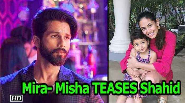 "News video: Mira- Misha TEASES Shahid by flaunting ""Extra Hugs"""
