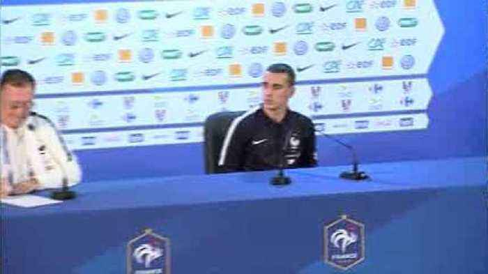 News video: Griezmann focused on France in Moscow