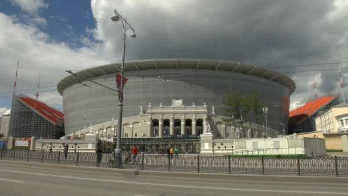 Yekaterinburg ready to play its part in Russian World Cup