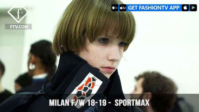 News video: Sportmax Ski Gear Inspired Milan Fashion Week Fall/Winter 2018-19 Collection | FashionTV | FTV