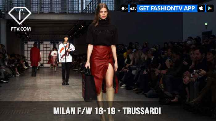 News video: Trussardi Mountains Winter Weekends Milan Fashion Week Fall/Winter 2018-19 | FashionTV | FTV