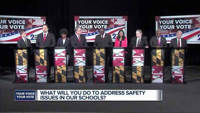 News video: WMAR Debate: What will you do to address safety issues in our schools?