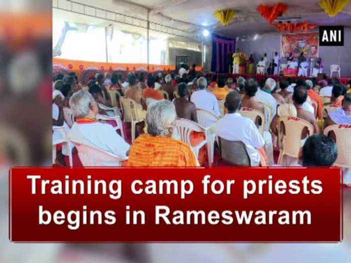 Training camp for priests begins in Rameswaram