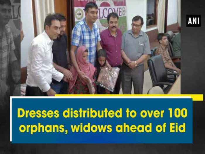 Dresses distributed to over 100 orphans, widows ahead of Eid