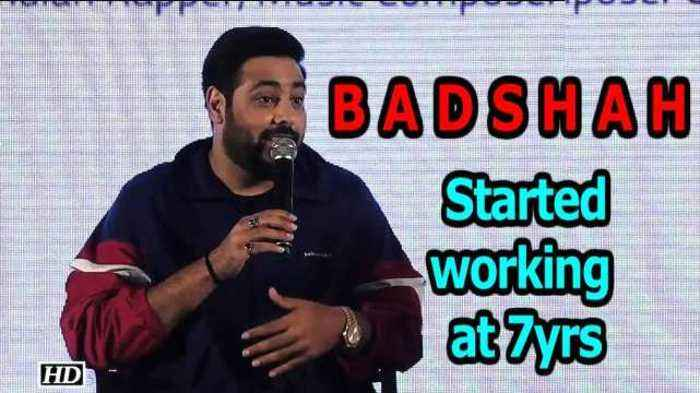 Rapper Badshah started working at the age of 7!
