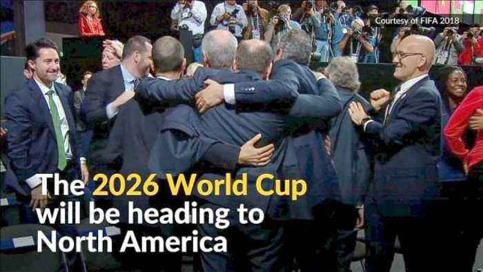 News video: U.S., Mexico and Canada to host 2026 World Cup