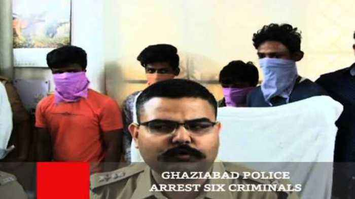 News video: Ghaziabad Police Arrest Six Criminals