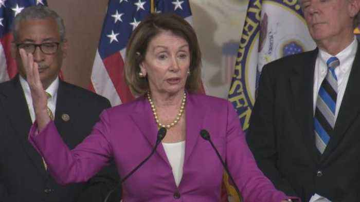Pelosi refutes Trump's claim NK no longer threat