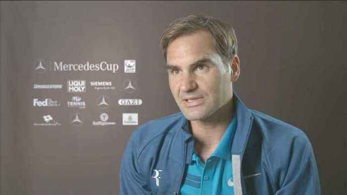 News video: Federer happy with return to grass but needs more practice