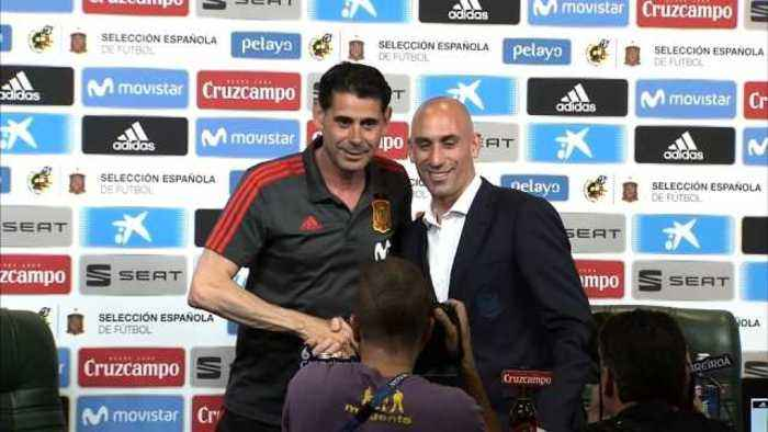 News video: Hierro to carry on Lopetegui's good work with Spain