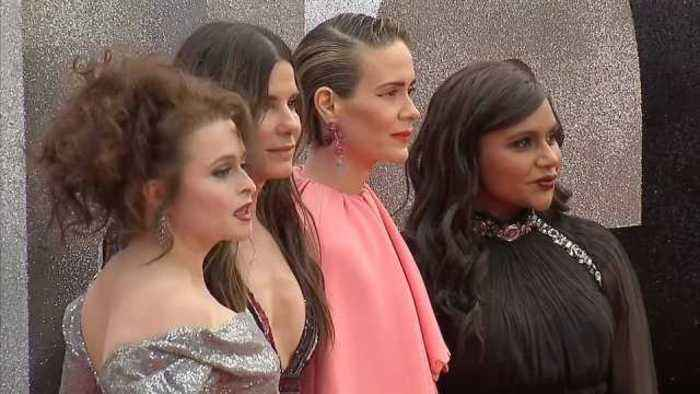 "News video: ""Ocean's 8"" stars celebrate box office success in London"