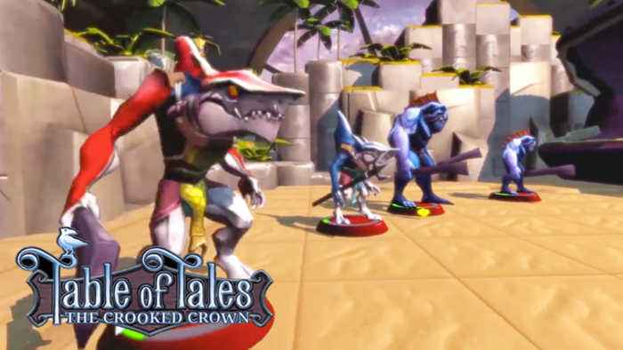 News video: Table of Tales: The Crooked Crown - PSVR Teaser Trailer | E3 2018