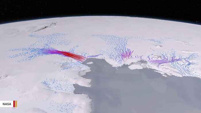 News video: Scientists Raise Alarm About Acceleration In Melting Of Antarctica's Ice