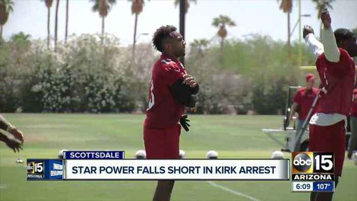 News video: Christian Kirk arrest: Body camera video shows February incident