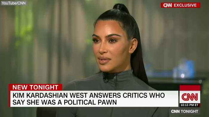 News video: Kim Kardashian West Responds to Critics Who Say President Trump Used Her