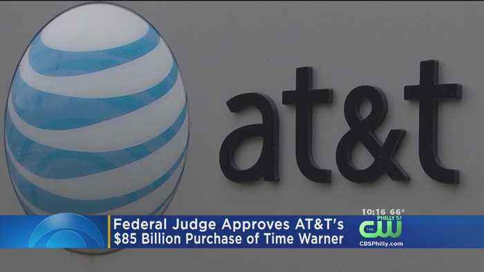 News video: Judge Approves AT&T-Time Warner Merger Without Conditions