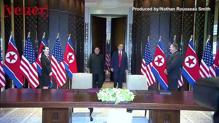 News video: No Thanks! Kim Jong Un's Security Team Didn't Trust Trump's Sharpie