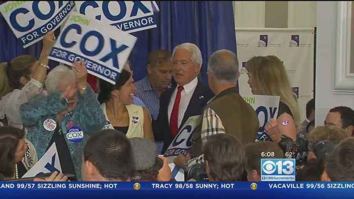 News video: Trump To Campaign For California GOP Candidate For Governor