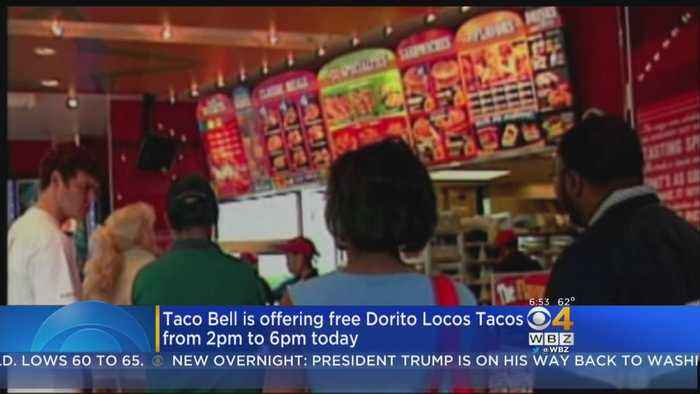 News video: Taco Bell Is Giving Away Free Doritos Locos Tacos On June 13