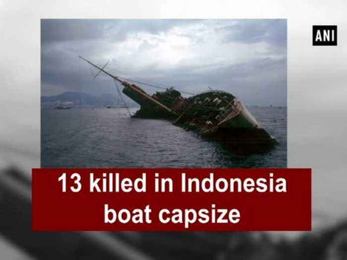 News video: 13 killed in Indonesia boat capsize