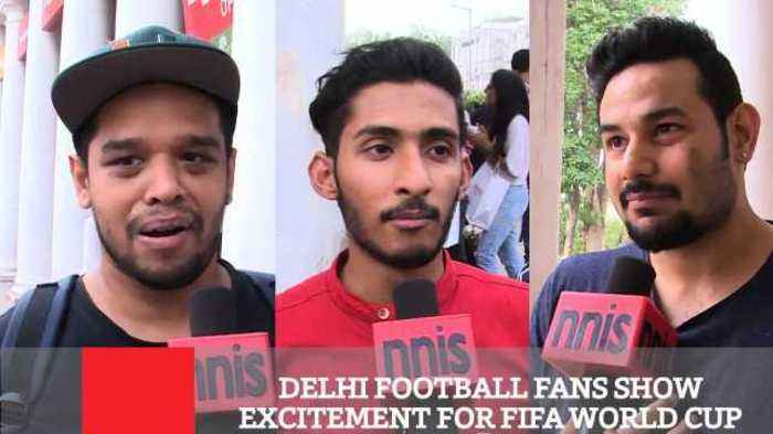 News video: Delhi Football Fans Show Excitement For FIFA World Cup