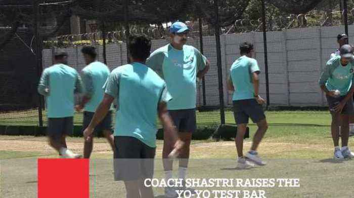 News video: Coach Shastri Raises The Yo Yo Test Bar