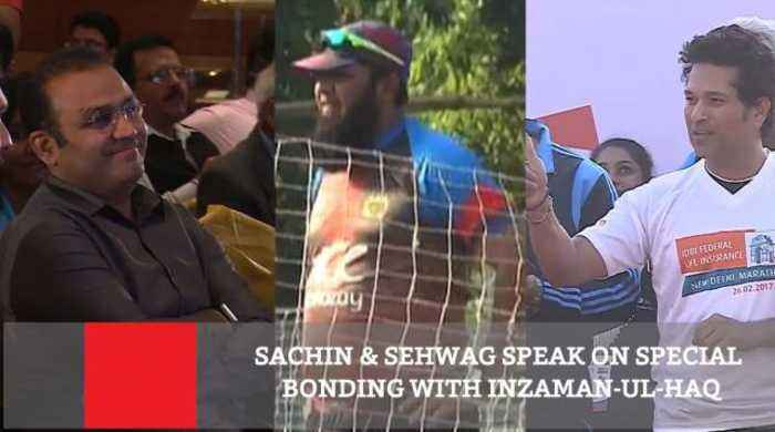 News video: Sachin & Sehwag Speak On Special Bonding With Inzaman Ul Haq