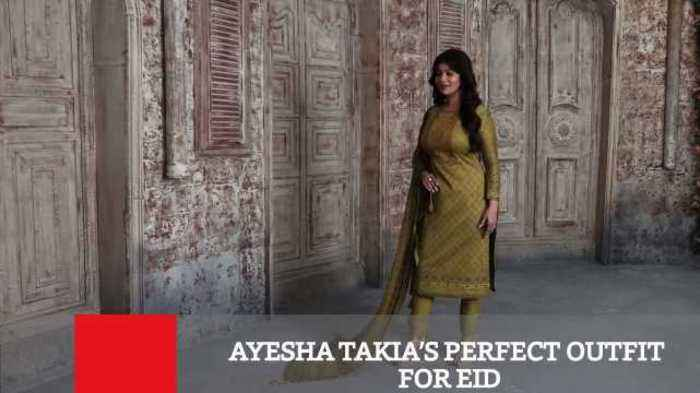 News video: Ayesha Takia's Perfect Outfit For Eid
