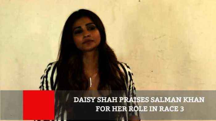 News video: Daisy Shah Praises Salman Khan For Her Role In Race 3