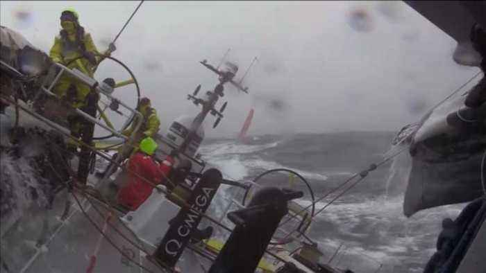 News video: Brunel surges to lead in leg 10 of Volvo