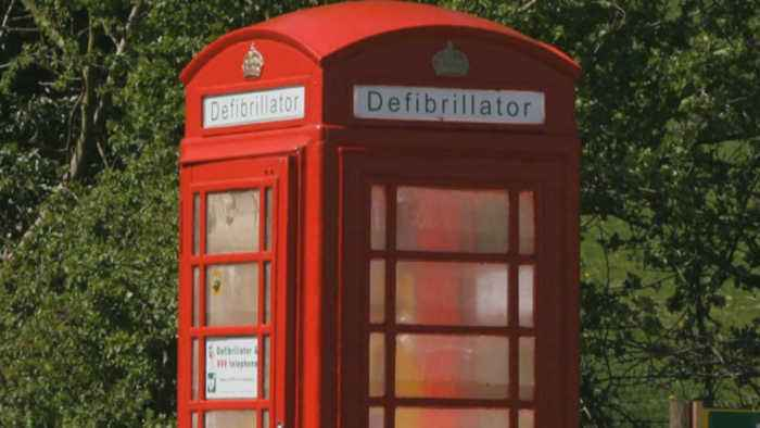 Giving a second life to England's iconic red phone booths