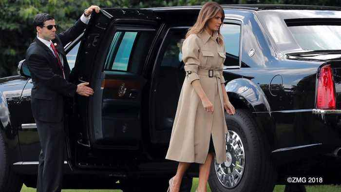 Melania Has a Better Approval Rating Than Her Husband
