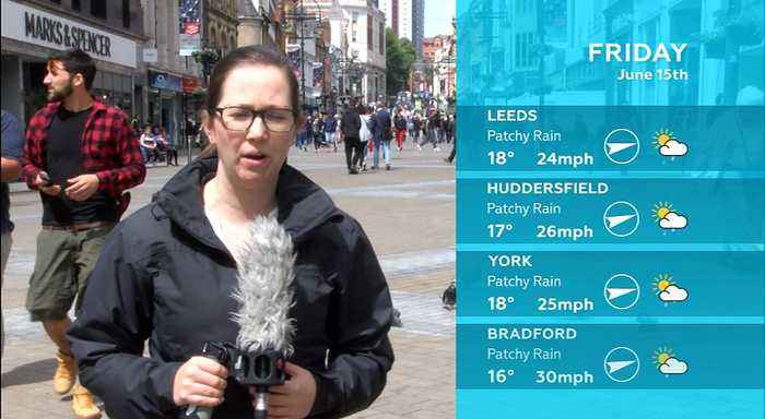 WEATHER: June 15th 2018