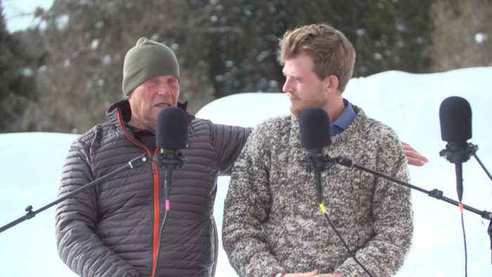 Father and son explorers Robert and Barney Swan discuss their mission to save the planet