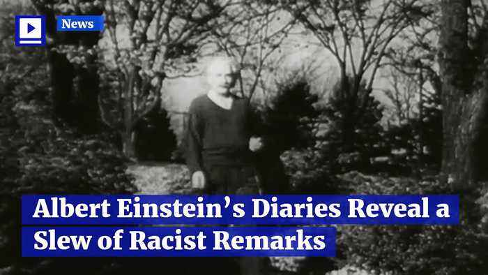 Albert Einstein's Diaries Reveal a Slew of Racist Remarks