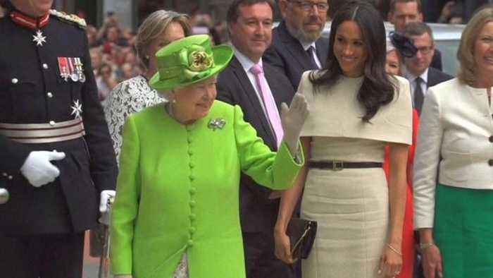 Meghan Markle and Queen Elizabeth Share First Official Engagement Together