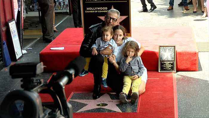 Jeff Goldblum Honored with Star on the Hollywood Walk of Fame